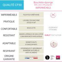Protège matelas qualité CP30